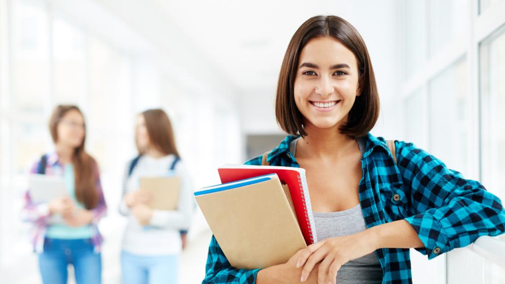 student visa smile face